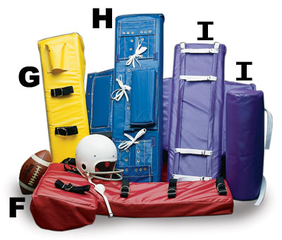 Football Blocking Sled Pads